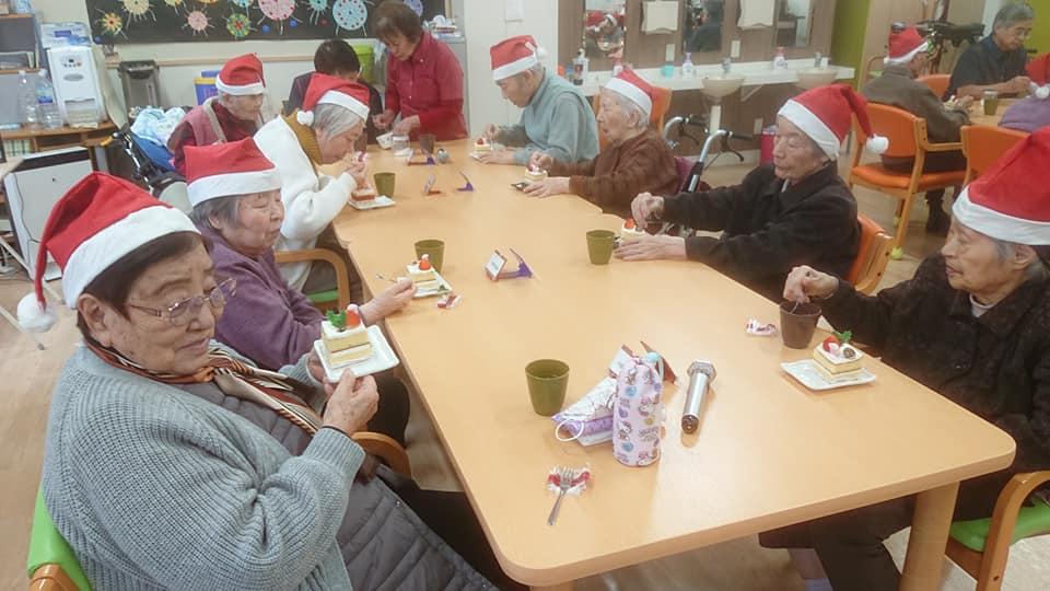 12月25日 クリスマス会(老人ホーム大宮司)2